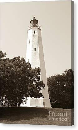 Historic Sandy Hook Lighthouse Canvas Print
