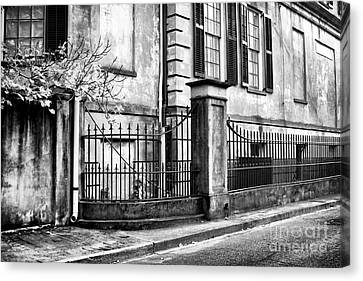 Historic Savannah Canvas Print by John Rizzuto