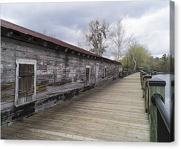 Historic Steamer Terminal On The Waccamaw River Canvas Print