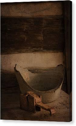 Historic Still Life Canvas Print by Cindy Rubin