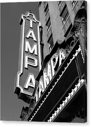 Historic Tampa Canvas Print by David Lee Thompson
