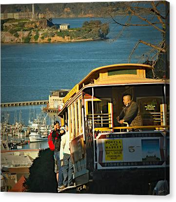 Historic Trolley Canvas Print by See My  Photos