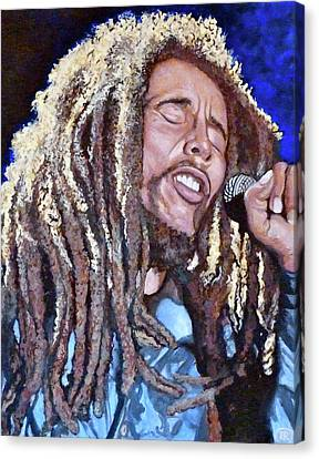 Hit Me With Music Canvas Print by Tom Roderick