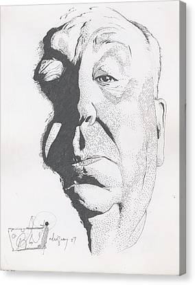 Hitchcock Canvas Print by Alex Rodriguez