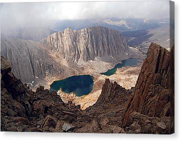Hitchcock Lakes Canvas Print by Baywest Imaging