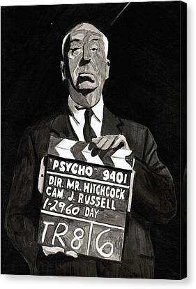 Hitchcock Canvas Print by Rob Merriam