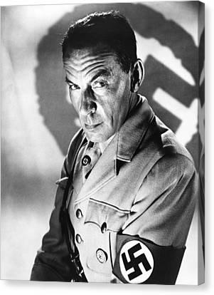 Hitler, Martin Kosleck As Joseph Canvas Print