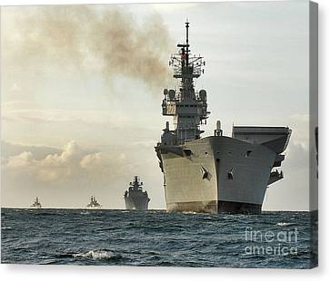 Hms Ark Royal  Canvas Print
