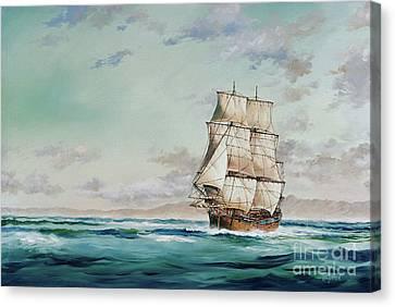 Hms Endeavour Canvas Print