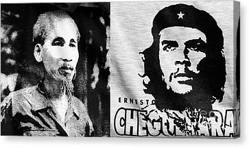 Ho Chi Minh And Che Guevara Canvas Print