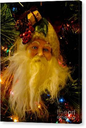 Ho Ho Ho Merry Christmas Canvas Print