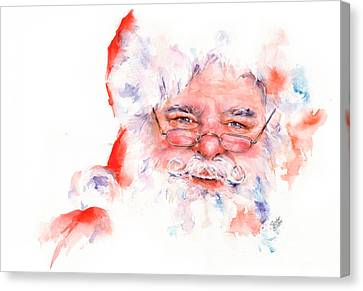 Ho Ho Ho.....  Santa  Canvas Print by Stephie Butler