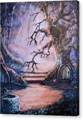 Hobbit Watering Hole Canvas Print