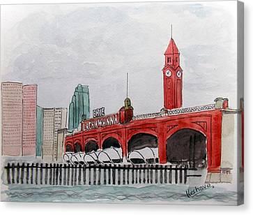 Hoboken Canvas Print
