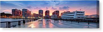 Hoboken New Jersey Canvas Print by Emmanuel Panagiotakis