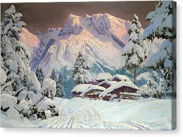 Hocheisgruppe Canvas Print by Alwin Arnegger