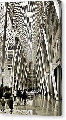 Hockey Hall Of Fame - Galleria Canvas Print by Carson Buzdegan