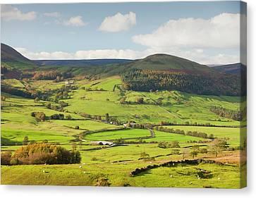 Hodder Valley Canvas Print by Ashley Cooper
