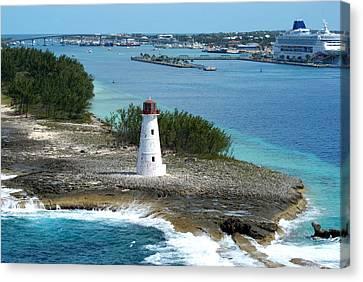Hog Island Lighthouse 2 Canvas Print