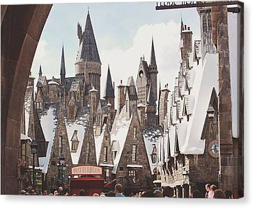 Hogsmeade Canvas Print by Jessie Gould
