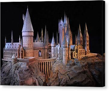 Hogwarts Castle Canvas Print by Tanis Crooks