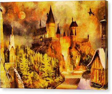 Hogwarts College Canvas Print by George Rossidis