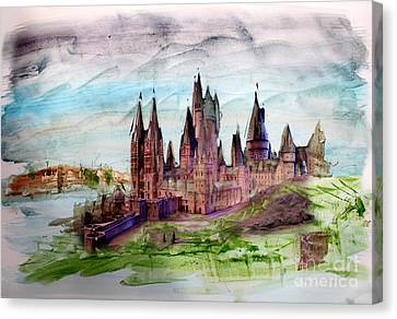 Hogwarts Canvas Print by Roger Lighterness