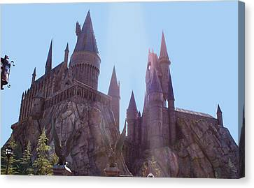 Hogwarts  Canvas Print by Shelley Overton