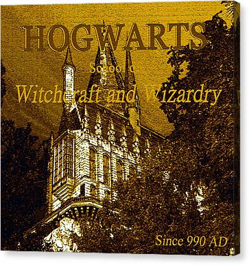 Hogwarts Since 990 Ad Canvas Print by David Lee Thompson