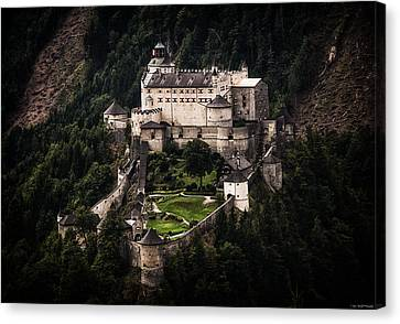 Hohenwerfen Castle Canvas Print