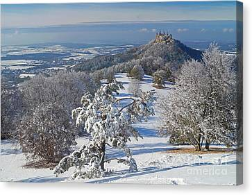 Hohenzollern Castle 2 Canvas Print by Rudi Prott