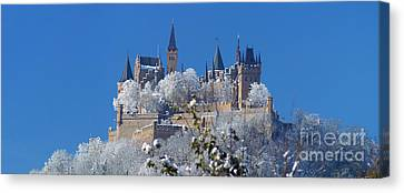 Hohenzollern Castle Germany Canvas Print by Rudi Prott
