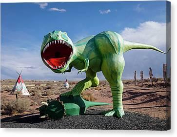 Holbrook, Arizona, United States Canvas Print by Julien Mcroberts