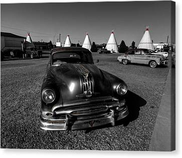 Holbrook Az - Wigwam Motel 005 Canvas Print by Lance Vaughn