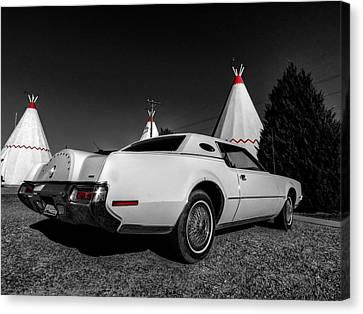 Holbrook Az - Wigwam Motel 009 Canvas Print by Lance Vaughn
