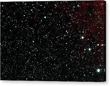 Holda Asteroid Canvas Print by Nasa/jpl-caltech
