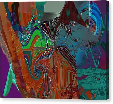 Hole Depth Canvas Print