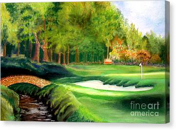 Hole Number10 Canvas Print