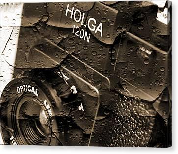 Holga Camera Canvas Print - Holga 120n by Mike McGlothlen