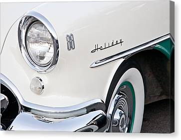 Holiday 88 Vintage Car Canvas Print by Matthew Bamberg