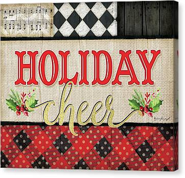Holiday Cheer Canvas Print by Jennifer Pugh