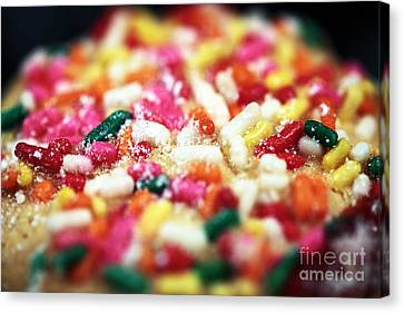 Holiday Cookie Canvas Print by John Rizzuto