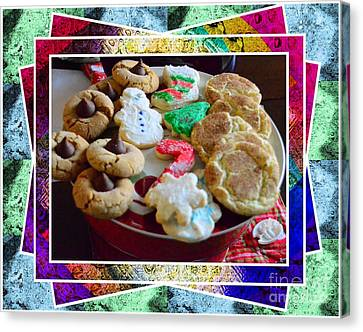 Holiday Cookies Canvas Print by Kathleen Struckle
