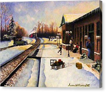 Holiday Depot 1932 Canvas Print