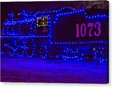 Holiday Express Train Canvas Print by Steven Bateson