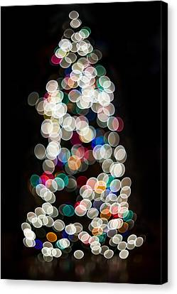 Holiday In Color Canvas Print by Aaron Aldrich