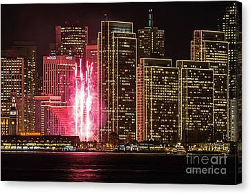 Holiday Lights Canvas Print