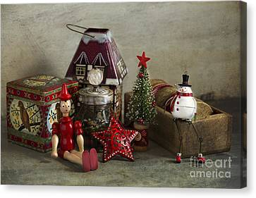 Holiday Memories Canvas Print by Elena Nosyreva