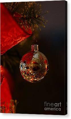 Holiday Season Canvas Print by Linda Shafer