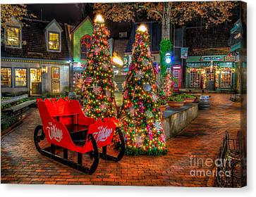 Cristmas In The Smokies Canvas Print